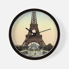 The Eiffel Tower Wall Clock