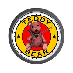 Teddy Bear Clock