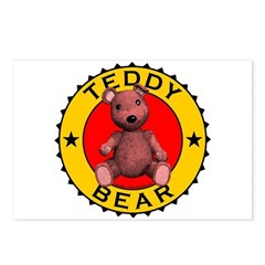 Teddy Bear Post Cards (Package of 8)