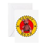 Teddy Bear Greeting Cards (Pk of 20)