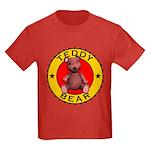Kid's Teddy Bear Tee-Shirt Dark Colored