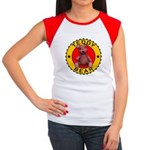 Women's Teddy Bear Cap Sleeve Tee-Shirt