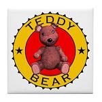 Teddy Bear Coaster Tile