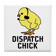 Dispatch Chick Tile Coaster