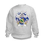 Lucio Family Crest Kids Sweatshirt