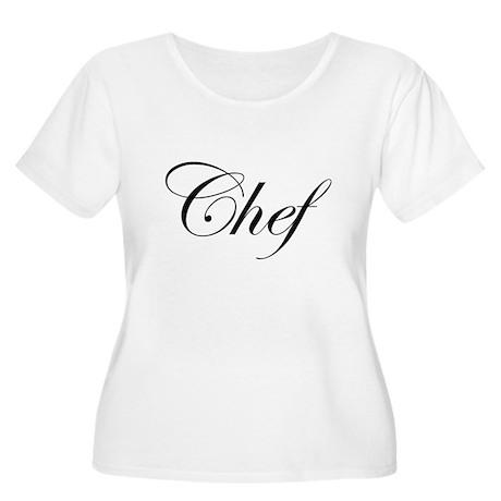 CHEF Women's Plus Size Scoop Neck T-Shirt