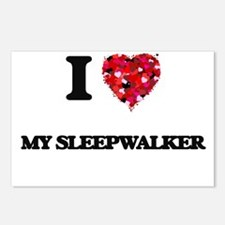 I love My Sleepwalker Postcards (Package of 8)