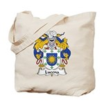 Lucena Family Crest Tote Bag