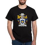 Lucena Family Crest Dark T-Shirt