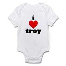 i love troy Onesie