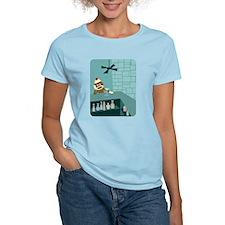 Sock Monkey Martini T-Shirt