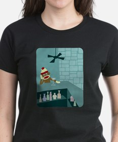 Sock Monkey Martini Tee
