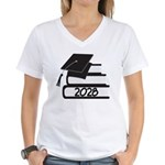 Class of 2028 Graduate Women's V-Neck T-Shirt