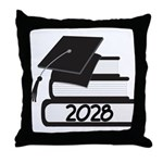 Class of 2028 Graduate Throw Pillow