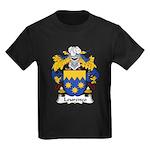 Lourenco Family Crest Kids Dark T-Shirt