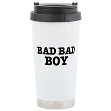 BAD BAD BOY Travel Coffee Mug