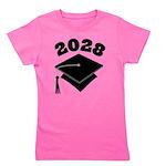 Class of 2028 Grad gift Girl's Tee