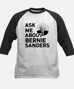 Ask Me About Bernie Sanders Baseball Jersey