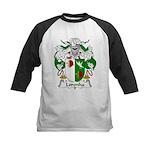 Loronha Family Crest Kids Baseball Jersey