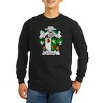 Loronha Family Crest Long Sleeve Dark T-Shirt