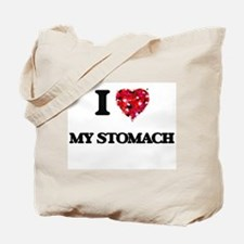 I love My Stomach Tote Bag