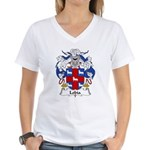 Lobia Family Crest Women's V-Neck T-Shirt