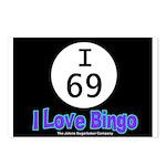 I 69 I Love Bingo Postcards (Package of 8)