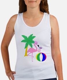 Pink Flamingo Tourist Tank Top
