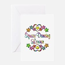 Square Dancing Lover Greeting Card