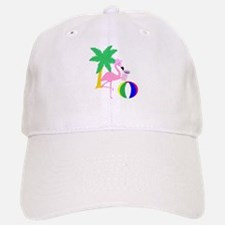 Pink Flamingo Tourist Baseball Baseball Baseball Cap