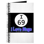 I 69 I Love Bingo Journal