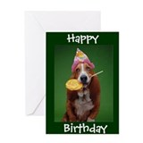 Basset Greeting Cards