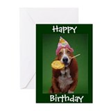 Basset hounds Greeting Cards (10 Pack)