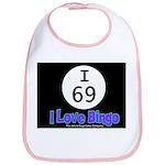 I 69 I Love Bingo Bib