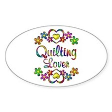 Quilting Lover Bumper Stickers