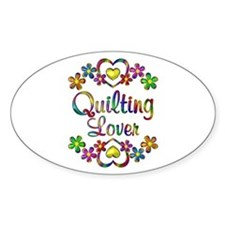 Quilting Lover Stickers