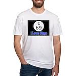 I 69 I Love Bingo Fitted T-Shirt