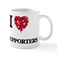 I love My Supporters Mug