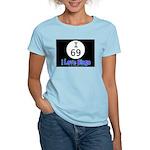 I 69 I Love Bingo Women's Pink T-Shirt