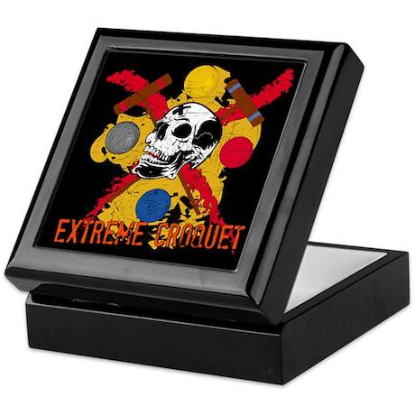Extreme Croquet Keepsake Box