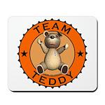 Team Teddy Bear Mousepad
