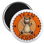 Team Teddy Bear Fridge Magnet