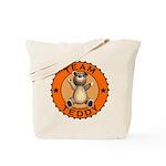 Team Teddy Bear Tote Bag