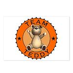 Team Teddy Bear Postcards (Package of 8)