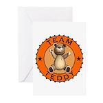 Team Teddy Bear Greeting Cards (Pk of 10)