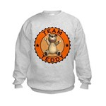 Team Teddy Bear Kids Sweatshirt