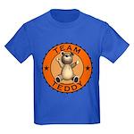 Team Teddy Bear Kids T-Shirt Dark Colored
