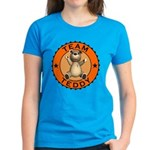 Team Teddy Bear Women's T-Shirt Dark Colored