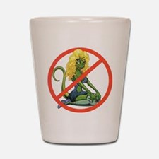 No Lot Lizards Shot Glass