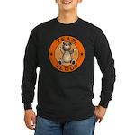 Team Teddy Bear Long Sleeve Dark T-Shirt